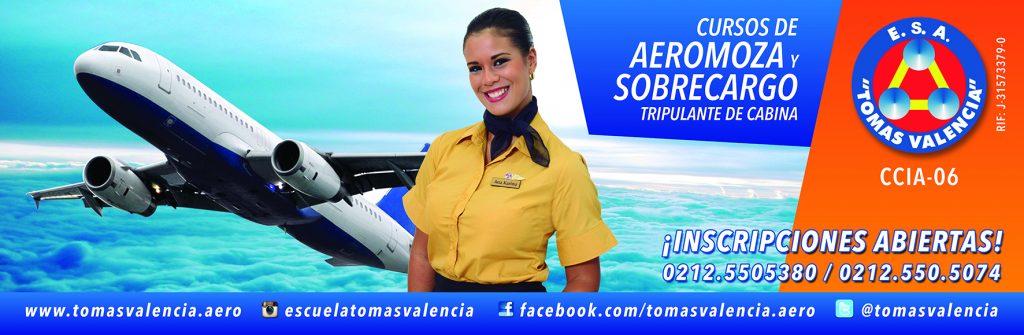 Banner Aeromoza